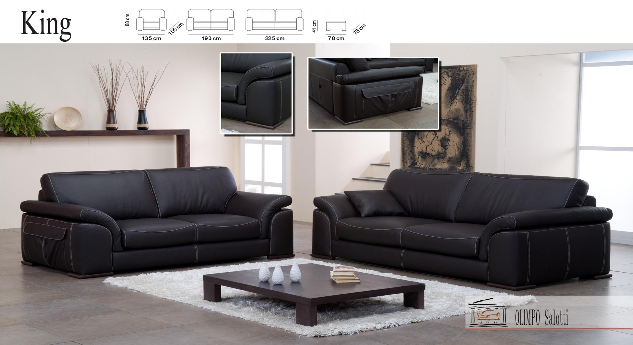 Salotto divano moderno 3p 2p alto design in offerta ebay - Divano moderno design ...