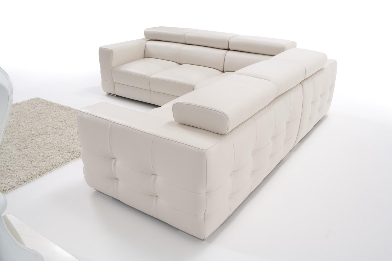 Salotto divano angolare in pelle 266cm x 266cm nuovo ebay - Dimensioni divano angolare ...