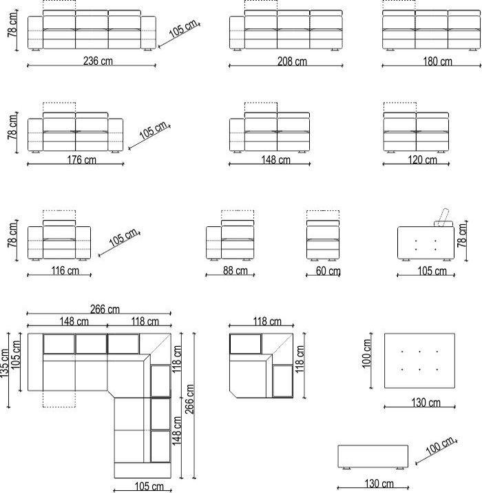 Divani Grandi Dimensioni ~ Idee per il design della casa